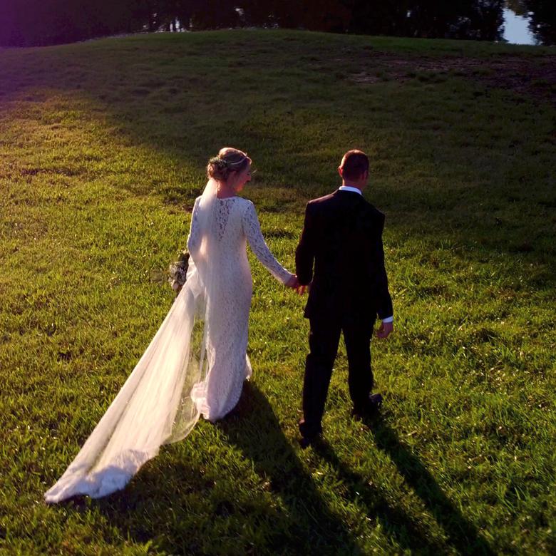 North Carolina Farm Wedding Kiersten Sam: Sugar Shack Films